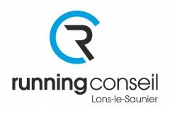 Logo Running Conseil - Blanc